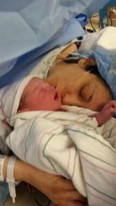 image 4 Anani and I after birth
